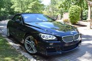 2012 BMW 6-Series 650I M PACKAGE  SPORT 2 DOOR CONVERTIBLE